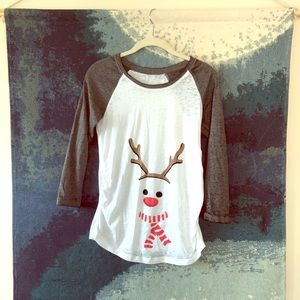 Maternity shirt for holidays